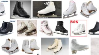 フィギュアスケート靴の種類と選び方